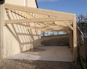 Abris De Terrasse En Kit : charpente 1 pente avec 2 fermes en movingui garage ~ Dailycaller-alerts.com Idées de Décoration