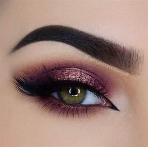 Maquillage Mariage Yeux Vert : les 25 meilleures id es de la cat gorie maquillage yeux ~ Nature-et-papiers.com Idées de Décoration