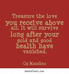 Og Mandino pict... Treasured Love Quotes