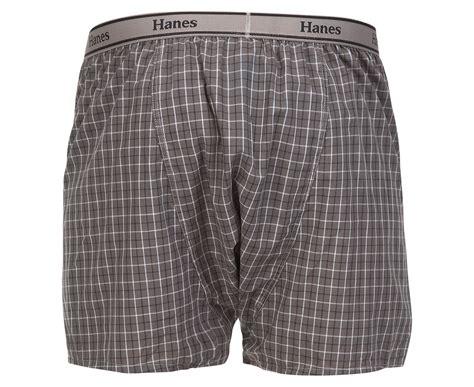 Hanes Men's Woven Boxers 2-pack