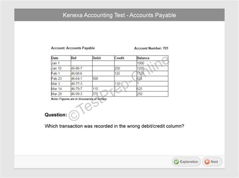 Accounting Clerk Questions by Free Pre Employment Accounting Test Kenexa Prove It