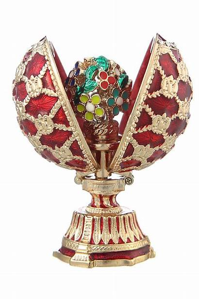 Faberge Eggs Egg Easter Russian Bouquet Flowers