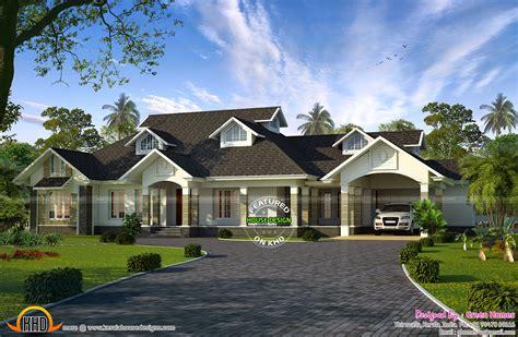 single floor colonial mix house kerala home design house