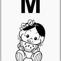 magali baby risco turma da desenhos para pintar turma da baby e desenhos para