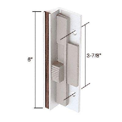 sliding glass patio door handle set 3 7 8 inch aluminum
