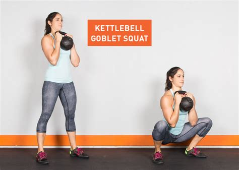 kettlebell squat goblet exercises exercise workout ass pull fitness kettle bell workouts body greatist standing main kick con killer pesa