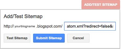 How Create Submit Sitemap Blogger Xomisse