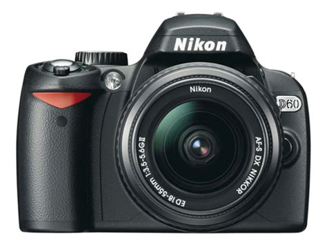 Nikon's D60 Camera Boasts 'airflow Control' Amateur