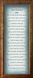 time travelers wedding commitment by heavenandearthworks With wedding poems for ceremony