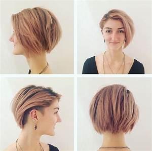 Coupe Cheveux Asymétrique : coupe de cheveux 2018 femme pour cheveux fins ~ Melissatoandfro.com Idées de Décoration