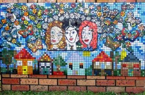 othilas mosaic mural ozmosaics mosaic art  craft