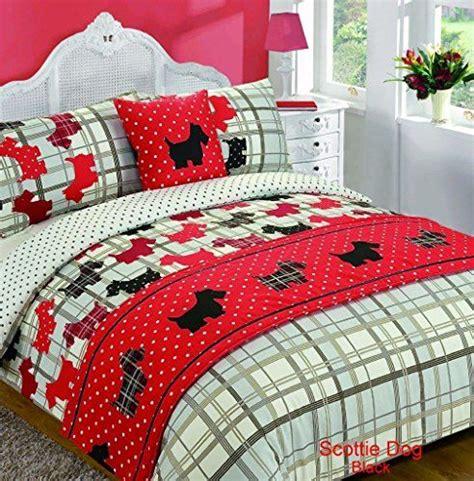 piece bed   bag black red duvet quilt cover single