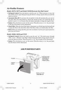 Hunter Fan 30200 Owner S Manual 41365 01 Rev 6 17 04 Pmd