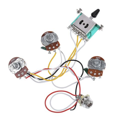 Stratocaster 5 Way Wiring Harnes by Electric Guitar Wiring Harness Prewired Kit For Strat