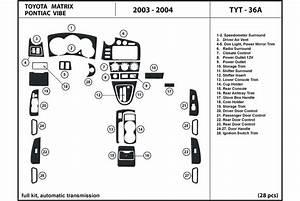 Dl Auto U00ae Pontiac Vibe 2003