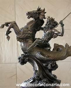 Neptune (Poseidon) Alt: 30 cm - Decorar con Arte