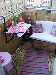 Balkonmöbel Für Kleinen Balkon : 33 ideen wie sie den kleinen balkon gestalten k nnen ~ Michelbontemps.com Haus und Dekorationen