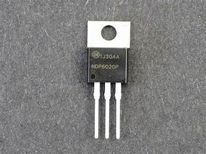 Power Mosfet P-ch 20v  24a Ndp6020p