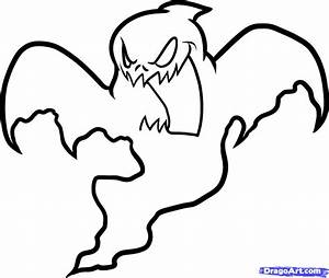 Halloween Ghost Drawing – Festival Collections