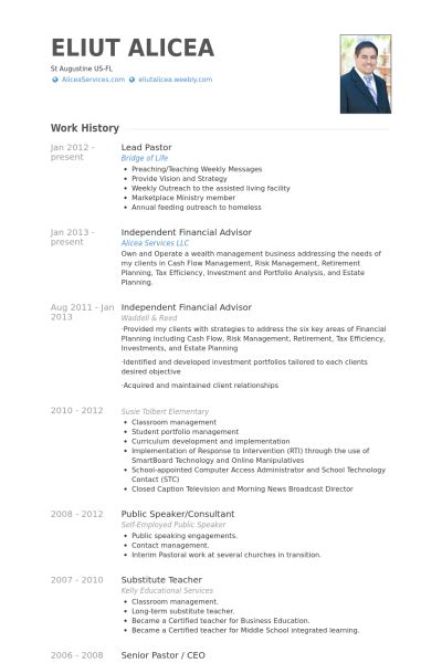 Ministry Resume Template by Pastor Resumes Exles