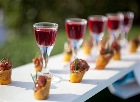 Foodie Coveted Canapés  Weddings By Malissa Barbados