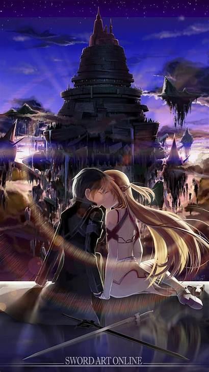 Sword Kirito Asuna Anime Mobile 3d Wallpapers