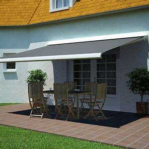 Coffre De Terrasse : store de terrasse coffre motoris avec led cendre 4 x 3m castorama ~ Teatrodelosmanantiales.com Idées de Décoration