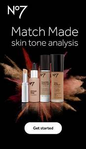No7 Match Made Skin Tone Analysis App