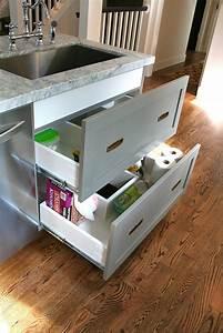 Design Dump  Drawers Under The Kitchen Sink