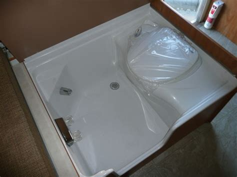 shower toilet combo rv now bus conversion ideas pinterest rv spaces and tiny houses