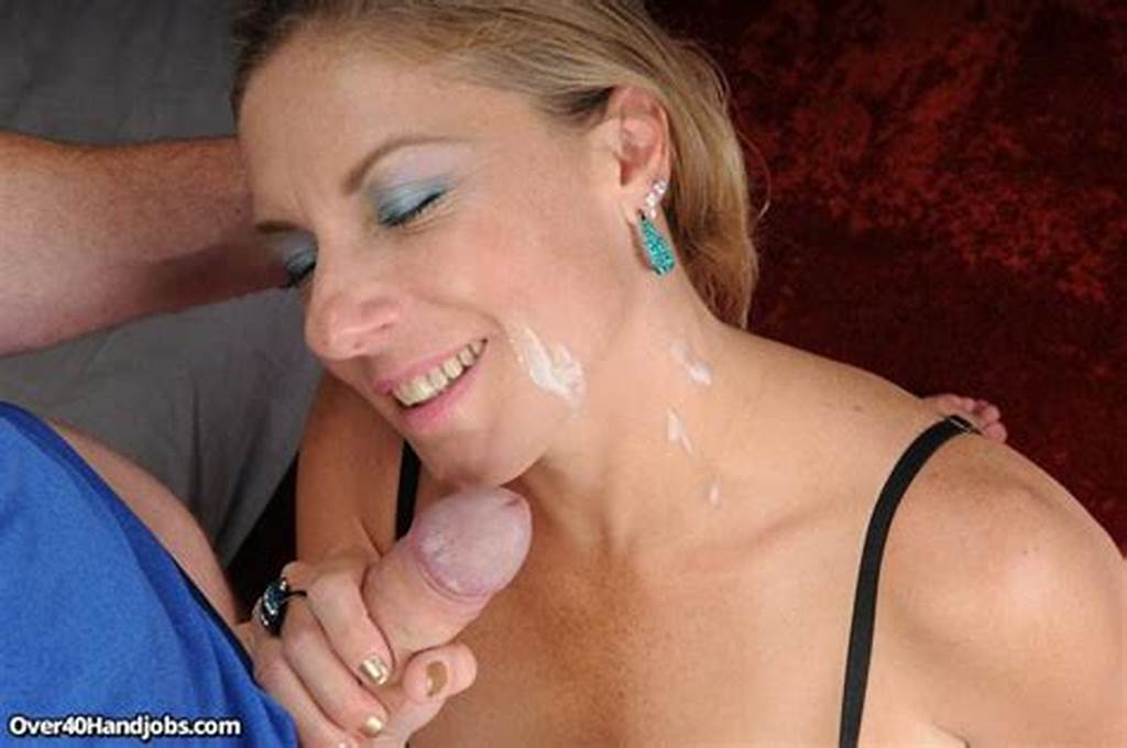 #Busty #Stepmom #Gives #Her #Stepson #A #Handjob #And #He #Cums #All