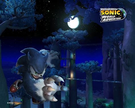 wallpapers sonic unleashed  minute continue