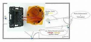 Cablage Bouton Poussoir : schmas lectriques cblages et branchements de circuits gratuits ~ Nature-et-papiers.com Idées de Décoration
