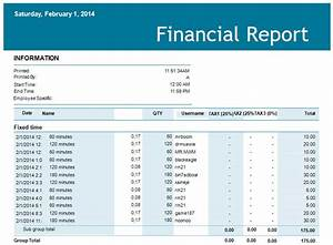 5 financial report templates excel pdf formats With financial reporting templates in excel