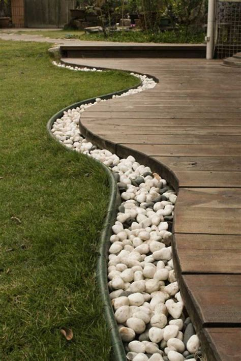 31 great ideas and pictures of river rock tiles for the 25 best ideas about river rock landscaping on