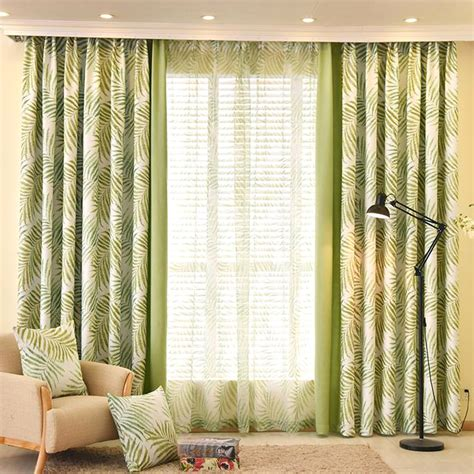 lime green botanical print polycotton blend insulated