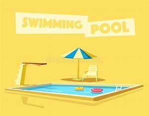 Dessin De Piscine : piscine avec un conseil de plong e illustration de vecteur ~ Melissatoandfro.com Idées de Décoration