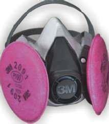 mascara de doble filtro  polvos asbesto amianto
