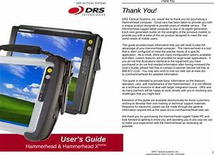 Drs Tactical Systems 9800178540001 Tablet Pc User Manual