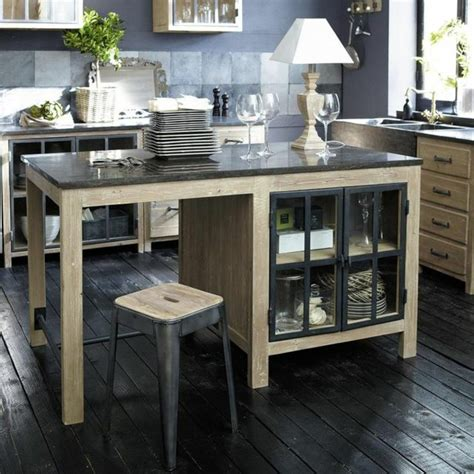 comptoir de cuisine maison du monde cuisine îlot central le cœur vivant de la maison
