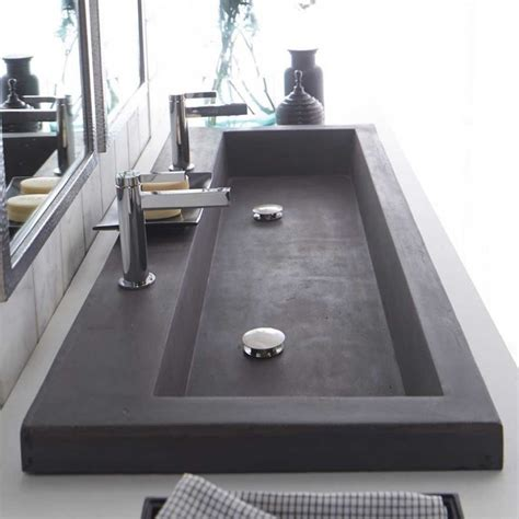 double trough sink bathroom vanity fruitesborras com 100 double faucet bathroom sink