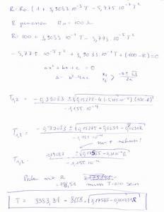 Umkehrfunktion Berechnen : umkehrfunktion der pt100 widerstandsberechnung ~ Themetempest.com Abrechnung