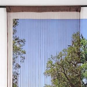 Fil Tringle Rideau : rideau de fil rideau et voilage eminza ~ Premium-room.com Idées de Décoration