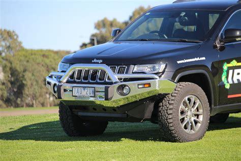 jeep grand cherokee bull bar grand cherokee wk2 2013 aluminium bull bar ironman 4x4