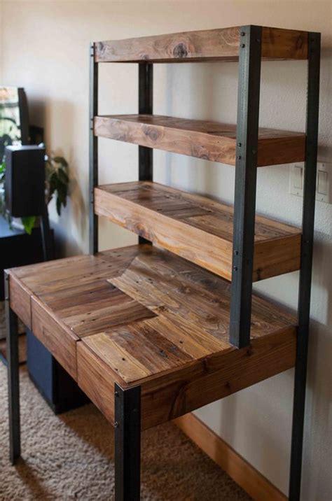 estanteria palets muebles muebles estilo industrial