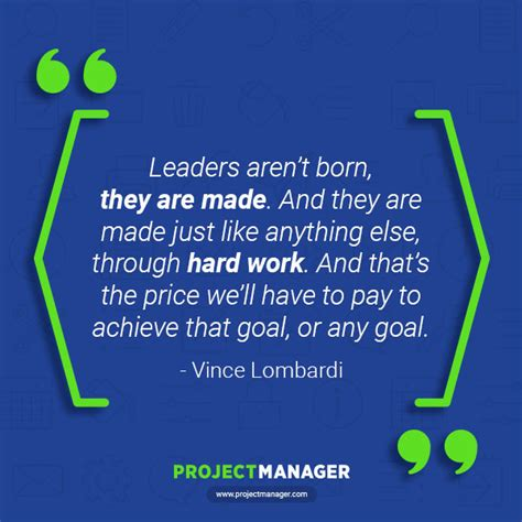 Inspirational Quotes for Project Managers