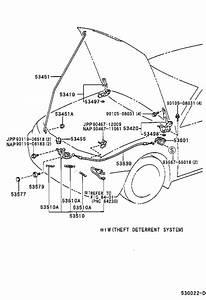 2001 Toyota Camry Hood Latch  Interchangeable With 53510aa020  Body  Lock  Interior