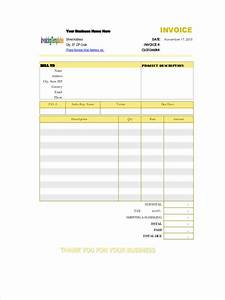 5 construction invoice forms free sample example With how to fill out a contractor s invoice
