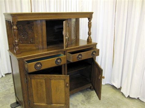 Antique Sideboard Buffet For Sale by Antique Oak Buffet Server Sideboard In Mint Condition For
