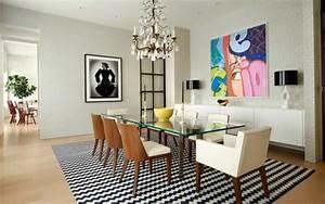 table contemporaine en verre 24 idees de deco design With salle À manger contemporaine avec objet deco en verre